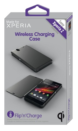 Made for Xperia qi charging pack