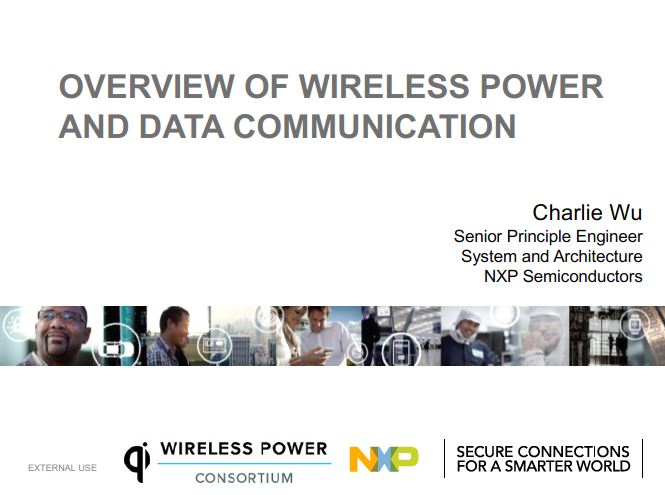 Charlie Wu - Overview of wireless power and data communications